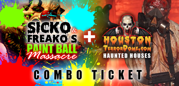 Terror Dome Combo Tickets