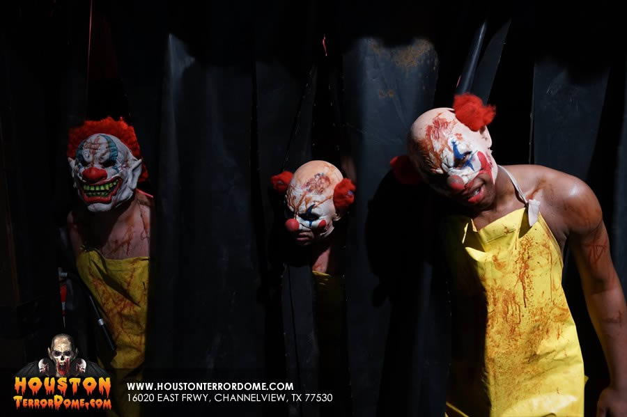 Clown triplets come out to play