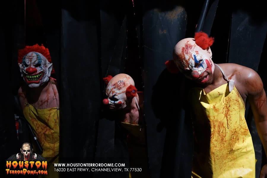 Scary Clowns at Terror Dome
