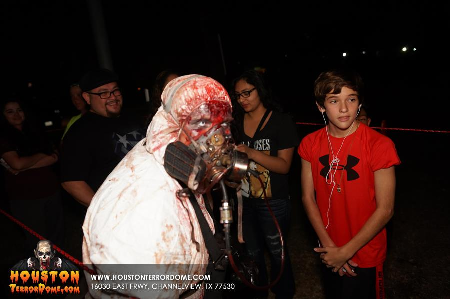 2015 2nd Weekend at Houston Terror Dome Haunted House