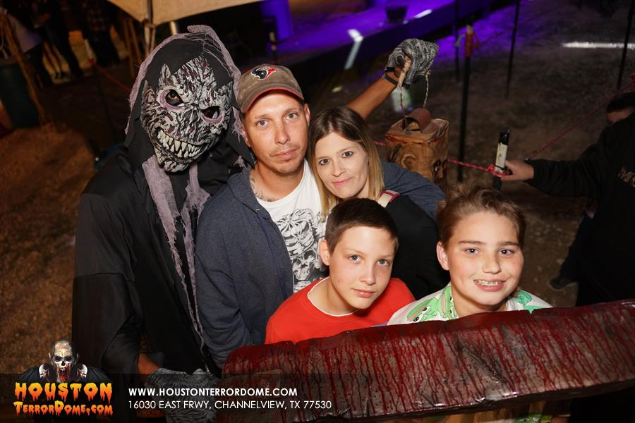 4th Saturday 2016 at Terror Dome Haunted House